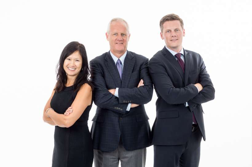 Team headshot photo for financial group