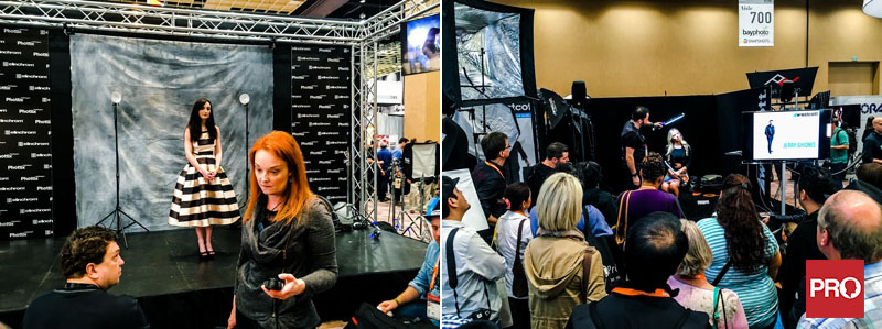 Westcott and Elinchrom at WPPI tradeshow
