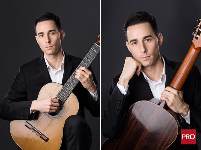 Vancouver classical guitarist Adrian Verdejo