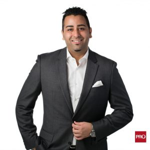 Vancouver real estate professional headshot