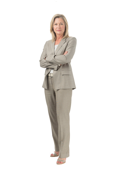 full length photo for business woman
