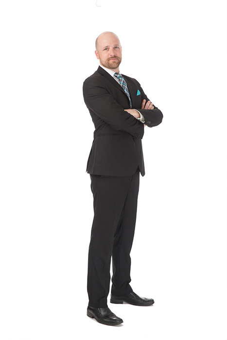 corporate full length portrait
