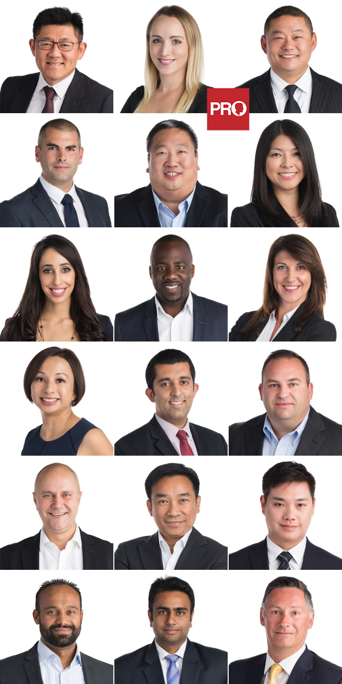 Team headshots of Vancouver Mortgage brokers