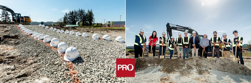 Ground Breaking Event in the Fraser Valley